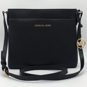 MICHAEL KORS BEDFORD SM NS CROSSBODY BLACK
